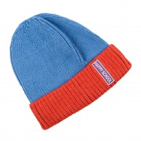 Warm Blue Cap for boy size 48-50. HAPPY SCHOOL
