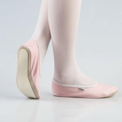 Rožiniai šokių - gimnastikos bateliai (češkės) 25-30 d.