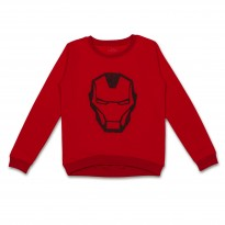 Red long sleeves jumper for boy Flamingo BDZ10012