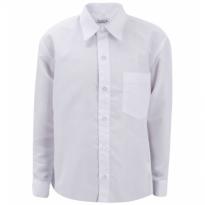 Balti marškiniai ilgomis rankovėmis berniukui BMA10002