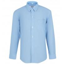Mėlyni marškiniai ilgomis rankovėmis berniukui BMA10024