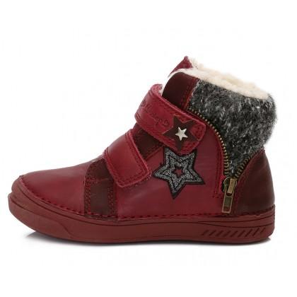 Bordiniai batai su pašiltinimu mergaitei 31-36 d. 040427AL