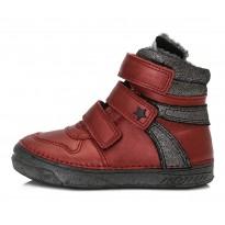 Bordiniai batai su pašiltinimu mergaitei 31-36 d. 040432BL
