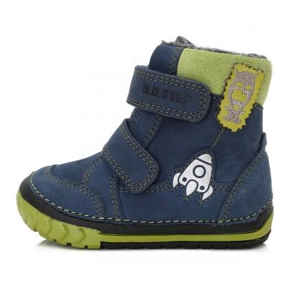 Mėlyni batai su vilna 19-24 d. W029303B