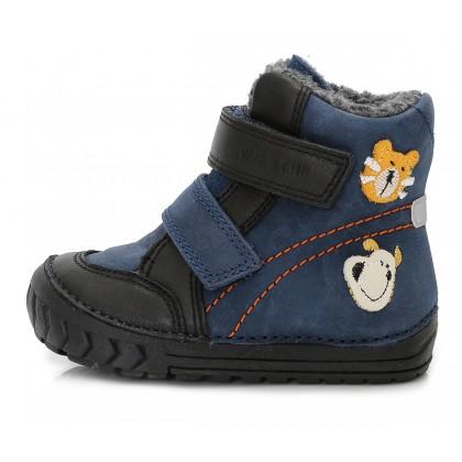Mėlyni batai su vilna 19-24 d. W029304
