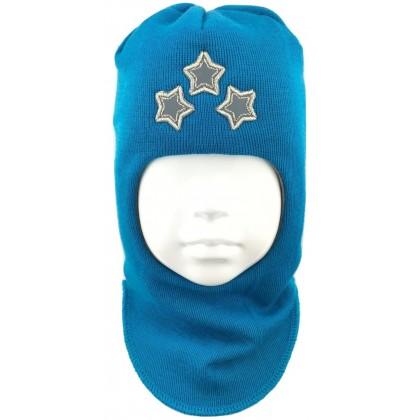 """Kepurė-šalmas su vilna berniukui """"Žvaigždės"""" 1408/24"""