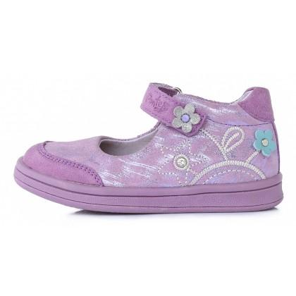 Violetiniai odiniai bateliai vaikams 22-27 d. DA031358A