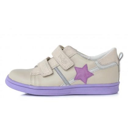 Šviesūs odiniai batai pavasariui 28-33 d. DA061648A