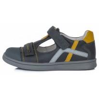 Tamsiai pilki batai sandalai vaikams 28-33 d. DA061656