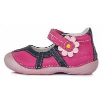 Rožiniai odiniai batai vaikams 20-24 d. 015170CU