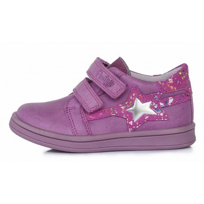 Violetiniai batai vaikams pavasariui 22-27 d. DA031362A