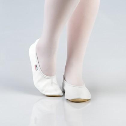 Balti šokių - gimnastikos bateliai (češkės) 25-30 d.
