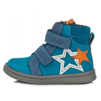 Mėlyni batai su pašiltinimu 22-27 d. DA031373C