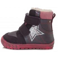 Ботинки с шерстью W029312A