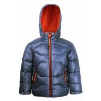 Серая куртка для мальчика на весну - осень 7521-4