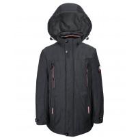 Серая куртка VENIDISE 8292-2