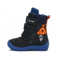 Mėlyni batai su pašiltinimu 25-30 d.023513BM