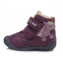 Violetiniai batai su pašiltinimu 20-24 d. 015968A
