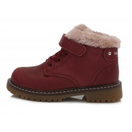 Bordiniai batai su pašiltinimu 31-36 d. 052712B