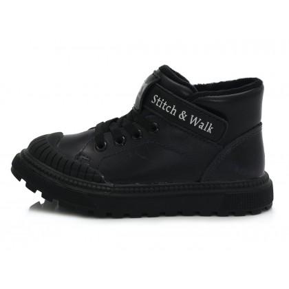 Tamsiai violetiniai batai su plonu pašiltinimu 31-36 d. 052632B