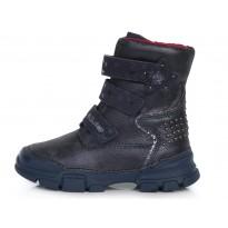 Ботинки с шерстью 31-36. W056724BL