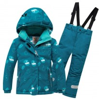 Valianly winter overall 8914-green