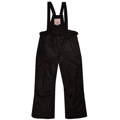 Juodos Valianly kombinezoninės kelnės 110-140 cm 8735_black