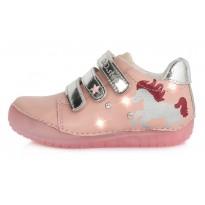 Šviesiai rožiniai LED batai 25-30 d. 050272M