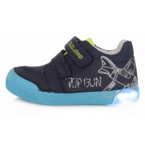 Tamsiai mėlyni LED batai 31-36 d. 06845L