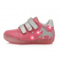 Rožiniai LED batai 31-36 d. 050272BL