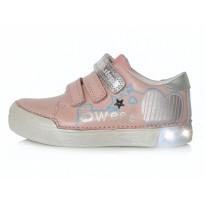Šviesiai rožiniai LED batai 25-30 d. 068691M