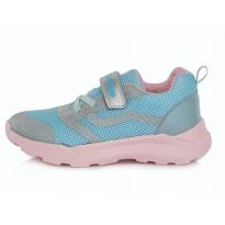 Šviesiai mėlyni sportiniai batai 24-29 d. F61626D