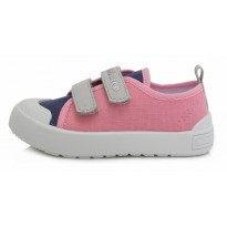 Rožiniai canvas batai 23-25 d. CSG158B