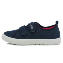 Tamsiai mėlyni canvas batai 32-37 d. CSG153L