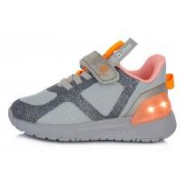 Спортивные LED ботинки 24-29. F61243CM