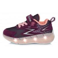 Спортивные LED ботинки 24-29. F61275EM