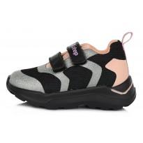 Juodi sportiniai batai 30-35 d. F61348CL