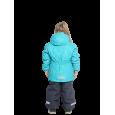 Turkio spalvos 2 dalių žieminis VALIANLY kombinezonas mergaitei