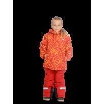Oranžinis 2 dalių žieminis VALIANLY kombinezonas 98-128