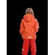 Raudonas 2 dalių žieminis VALIANLY kombinezonas mergaitei