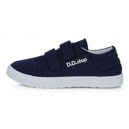 Tamsiai mėlyni canvas batai 32-37 d. CSB125