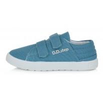 Šviesiai mėlyni canvas batai 32-37 d. CSB125A