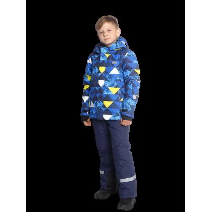Mėlynas 2 dalių žieminis VALIANLY kombinezonas berniukui