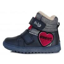 Утепленные ботинки 28-33. DA061222