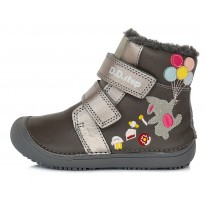 Barefoot ботинки с шерстью 25-30. W063422AM-WOOL