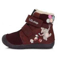 Barefoot ботинки с шерстью 25-30. W063422M-WOOL