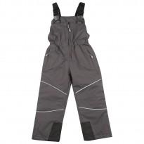 Pilkos Kalborn kombinezoninės kelnės 110-134 cm