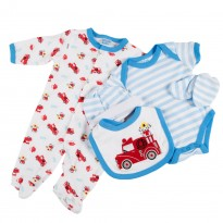 5th pieces set for baby boy