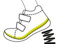 Mėlyni batai 28-33 d. DA071706L